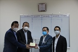Doanh nghiệp Việt Nam góp sức cùng Chính phủ Campuchia phòng, chống dịch COVID-19