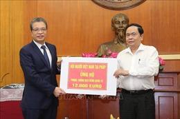 Cộng đồng người Việt Nam ở nước ngoài tích cực ủng hộ chống dịch COVID-19 trong nước