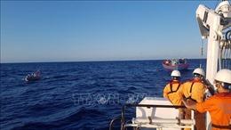 Hỗ trợ tìm kiếm thuyền viên tàu nước ngoài mất tích trên biển Bình Thuận
