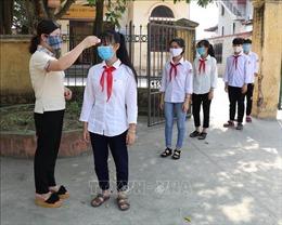 Các địa phương nỗ lực đảm bảo an toàn khi đón học sinh trở lại trường học