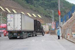 Lượng xe tồn đọng tại các cửa khẩu ở Lạng Sơn giảm mạnh