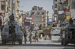 Ai Cập tiêu diệt hàng chục phần tử khủng bố tại Bắc Sinai