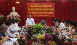 Đoàn công tác Trung ương làm việc với Tỉnh ủy Cao Bằng