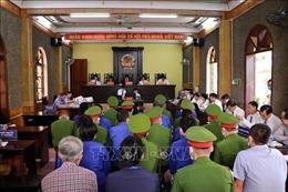 Vụ gian lận điểm thi THPT tại Sơn La: Tiếp tục xét hỏi các bị cáo
