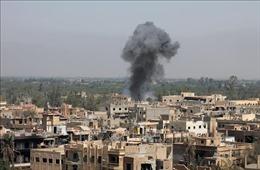 Nổ tại một căn cứ quân sự của Các lực lượng Dân chủ Syria