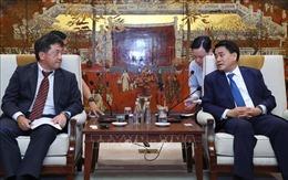 Hà Nội và JICA tăng cường hợp tác, đảm bảo tiến độ các dự án