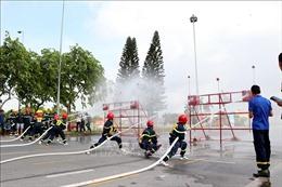Nâng cao kỹ năng, nghiệp vụ chữa cháy và cứu nạn cứu hộ