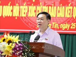 Bí thư Thành ủy Vương Đình Huệ: Không để tiềm năng cửa ngõ phía Nam bị 'lãng quên'