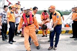Tìm thấy xác tàu cá TH 90282 TS bị đâm chìm trên biển Hải Phòng