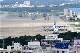 Công việc xây dựng căn cứ Mỹ tại Okinawa được nối lại