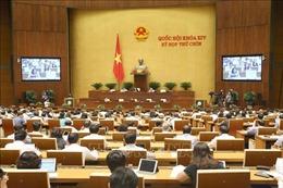 Ngày làm việc cuối cùng (19/6),  Quốc hội biểu quyết nhiều nội dung quan trọng
