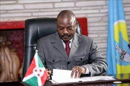 Chính phủ Burundi họp bất thường tìm người thay thế cố Tổng thống Nkurunziza