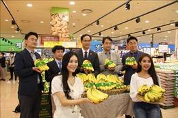 Sản phẩm chuối Việt Nam chính thức vào chuỗi siêu thị Lotte Hàn Quốc