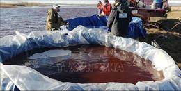Nga rà soát các công trình trên băng sau sự cố tràn dầu ở Bắc Cực