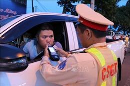 Tổng kiểm soát phương tiện cơ giới đường bộ, xử lý 18.022 trường hợp vi phạm nồng độ cồn