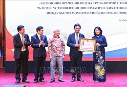 Thắt chặt tình hữu nghị giữa nhân dân Việt Nam - Liên bang Nga