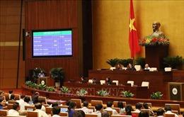 Nghị quyết về điều chỉnh Chương trình xây dựng luật, pháp lệnh năm 2020