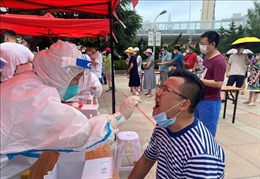 Trung Quốc thêm 68 ca mắc COVID-19, có 64 ca lây nhiễm trong cộng đồng