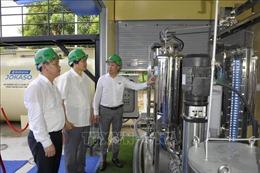 Ra mắt hệ thống xử lý nước thải gia đình và làng nghề thông minh