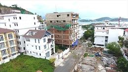 Xử lý nghiêm vi phạm tại Dự án biệt thự Ocean View Nha Trang