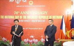 Tăng cường phát triển tình hữu nghị Việt Nam - CH Séc