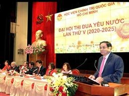 Thi đua xây dựng, phát triển Học viện Chính trị quốc gia Hồ Chí Minh ngang tầm nhiệm vụ