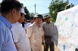 Kiểm tra thi công các công trình, dự án trọng điểm tại Ninh Thuận