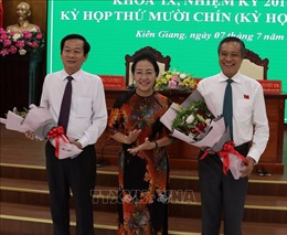 Ông Đỗ Thanh Bình được bầu giữ chức Chủ tịch tỉnh Kiên Giang