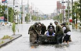 Mưa lớn ảnh hưởng nghiêm trọng sản xuất tại Tây Nam Nhật Bản