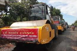 Đầu tư 180 tỷ đồng cho tuyến đường nối Đồng Phú - Bình Dương