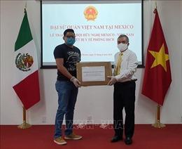 Thống đốc bang Guerrero cảm ơn Việt Nam hỗ trợ phòng chống dịch COVID-19