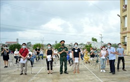 142 công dân hoàn thành cách ly tập trung tại Nam Định
