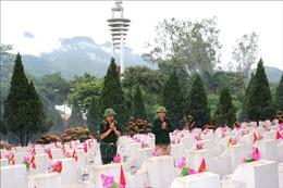 Nghĩa trang Liệt sỹ Quốc gia Vị Xuyên những ngày tháng 7