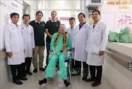 Bệnh nhân phi công người Anh 'trải lòng' về những ngày điều trị tại Việt Nam