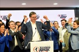 Đảng cầm quyền tại Serbia củng cố quyền lực sau tổng tuyển cử