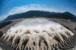 Mực nước hồ chứa đập Tam Hiệp gần đạt mức tối đa