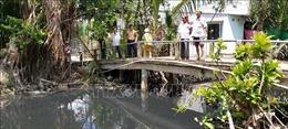 Phản hồi thông tin của TTXVN: Bến Tre sẽ triển khai nạo vét, giải quyết ô nhiễm ở kênh Xáng
