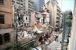 Liban thông báo còn người mất tích trong vụ nổ kinh hoàng ở Beirut