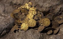 Phát lộ kho tiền vàng có niên đại hơn 1.000 năm tại Israel