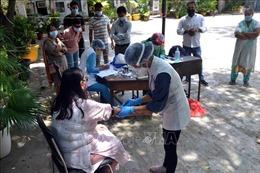 Số ca nhiễm mới COVID-19 ở Ấn Độ ở mức trên 78.000 ca trong hai ngày liên tiếp