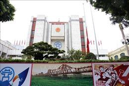 Hà Nội treo cờ rủ Quốc tang nguyên Tổng Bí thư Lê Khả Phiêu