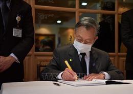 Lễ viếng và mở sổ tang nguyên Tổng Bí thư Lê Khả Phiêu tại Thái Lan, Indonesia, Myanmar, Thụy Điển và Hy Lạp