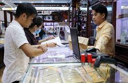 Chiều 14/8, giá vàng trong nước giảm xuống dưới ngưỡng 57 triệu đồng/lượng