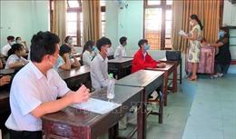 Trên 12.000 thí sinh ở Thừa Thiên - Huế làm thủ tục dự thi