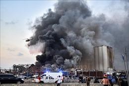 Tổng thống Liban đánh giá vụ nổ tại Beirut gây thiệt hại hơn 15 tỷ USD