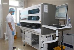 Quảng Ngãi tiếp nhận tài trợ máy xét nghiệm COVID-19