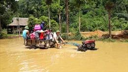 Mưa lớn tiếp tục gây ngập lụt tại huyện Lục Yên, Yên Bái