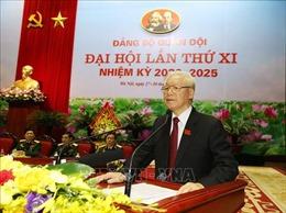 Toàn văn phát biểu của Tổng Bí thư, Chủ tịch nước tại Đại hội đại biểu Đảng bộ Quân đội