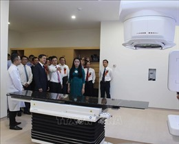 Vĩnh Phúc có Trung tâm điều trị ung thư hoàn chỉnh, khép kín đầu tiên