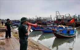 Bão số 5 gây gió mạnh cấp 9, giật cấp 11 ở vùng ven biển Quảng Trị